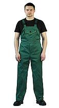 """Костюм рабочий, летний, мужской, с полукомбинезоном. """"Дока"""" зеленый, фото 3"""