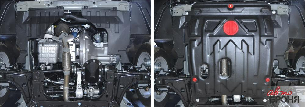 Защита картера + КПП, Chevrolet Lacetti 2004 - н.в., фото 2