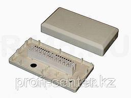 Распределительная коробка на 10 пар с плинтом (КРТУ)