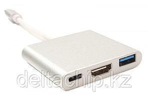 Переходник Type C на HDMI/USB