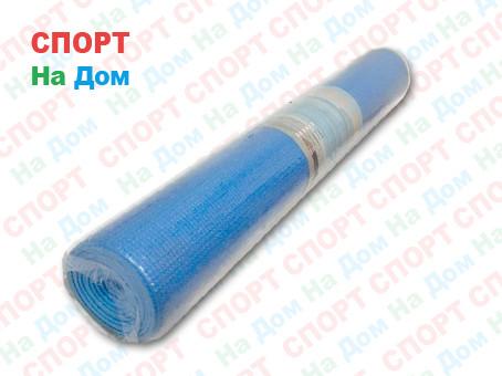 Коврик для фитнеса голубой (Габариты: 170х60х0,3 см)