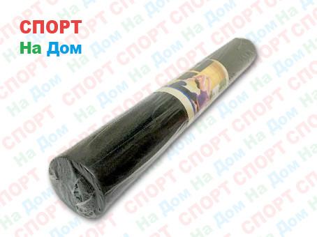 Коврик для фитнеса черный (Габариты: 170х60х0,3 см)