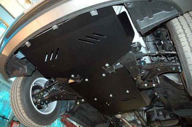 Защита радиатора + картера Hyundai H1 2007-2018, V - 2.5d; АКПП; задний привод, фото 2