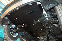 Защита радиатора + картера Hyundai H1 2007-2018, V - 2.5d; АКПП; задний привод