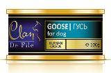 Clan De File 100г с гусем консервы для собак