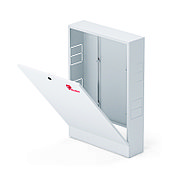Шкаф коллекторный наружный сталь ШРН-6 1147х118х652-715мм Wester