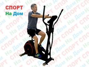 Эллиптический тренажер с сиденьем GF-120 до 130 кг