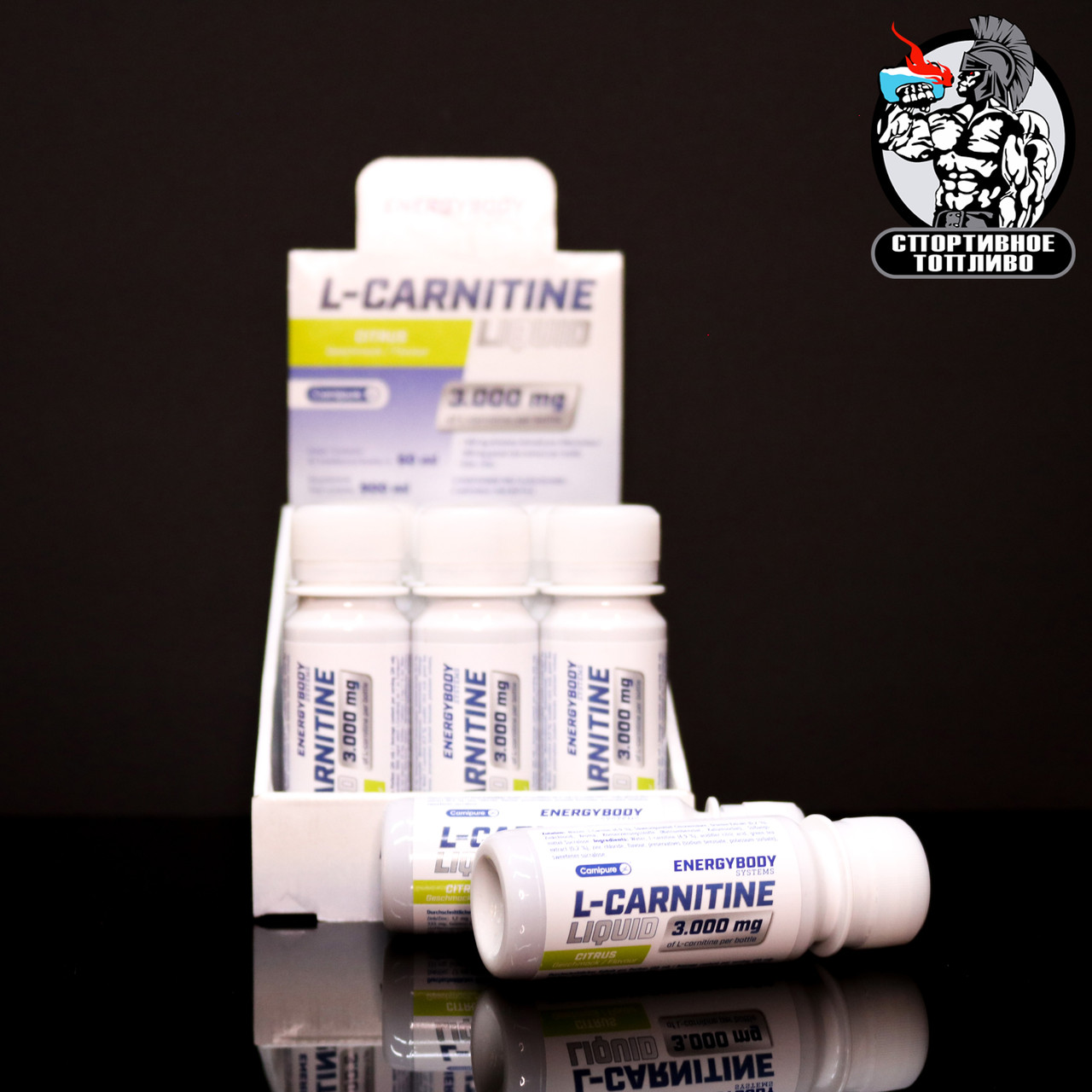 Energy Body L-carnitine 3000 Shot (60мл - 1порция)