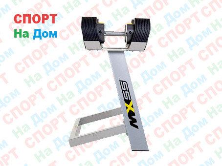 Гантели наборные MX Select MX-55, вес 4.5-24.9 кг, 2 шт, фото 2