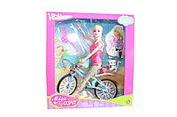 Барби на велосипеде  51803