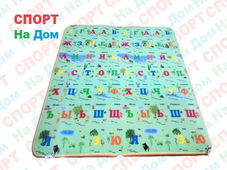 Теплый коврик напольный обучающий для детей (Габариты:1,8 х 2 метра)