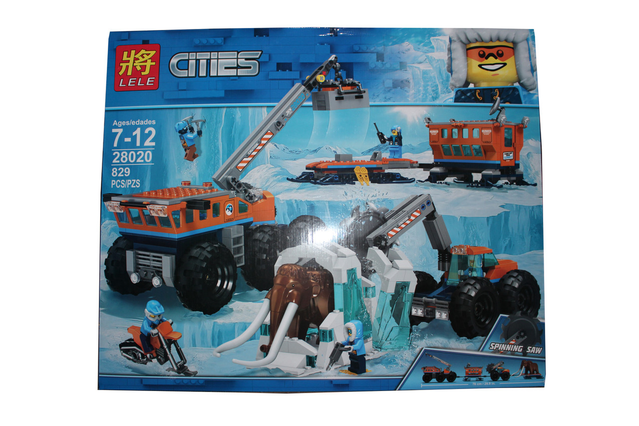 Лего сити зимний  28020