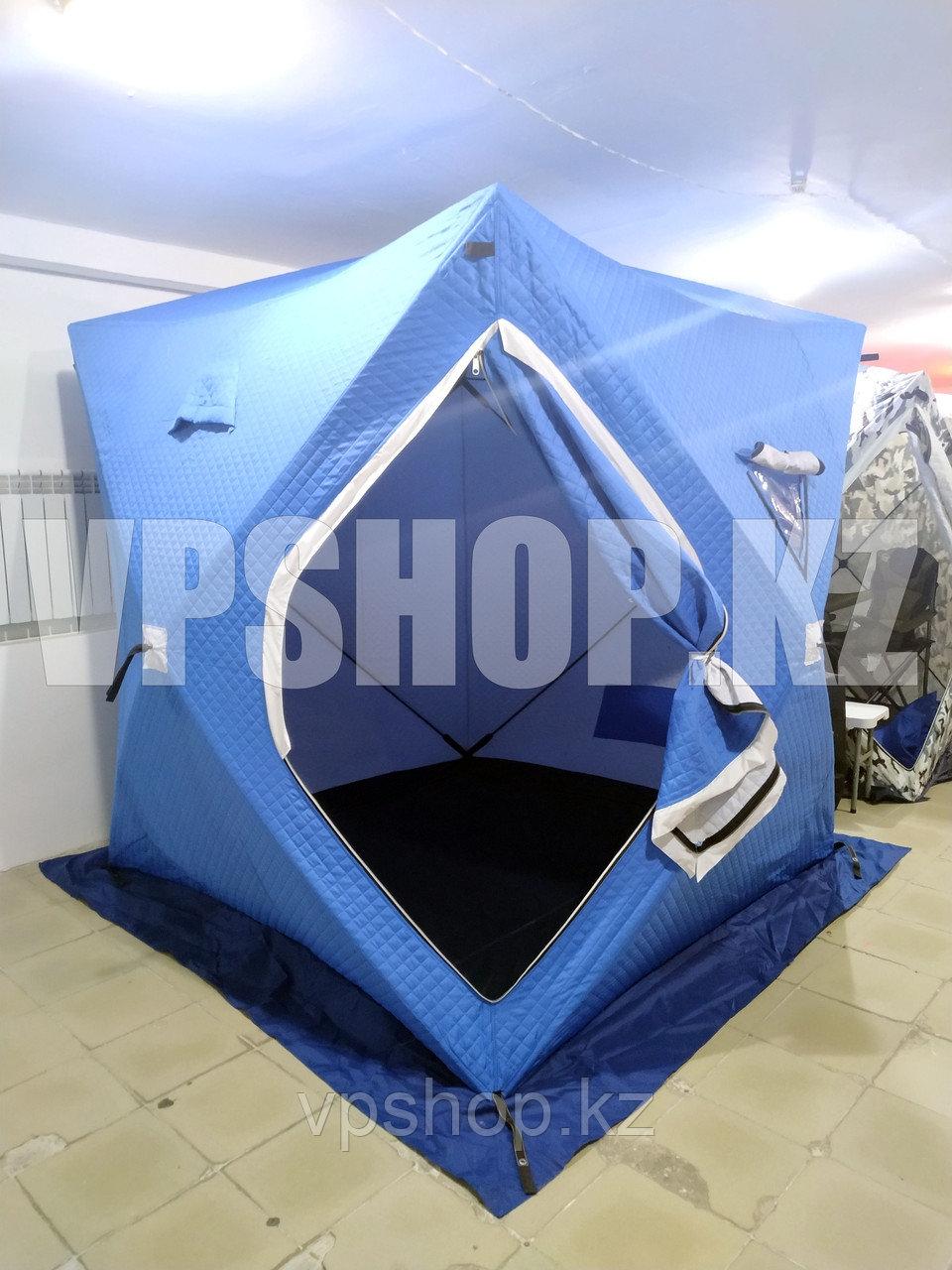 КУБ палатка с дном(пол) утепленная 2х2 с синтепоном, доставка