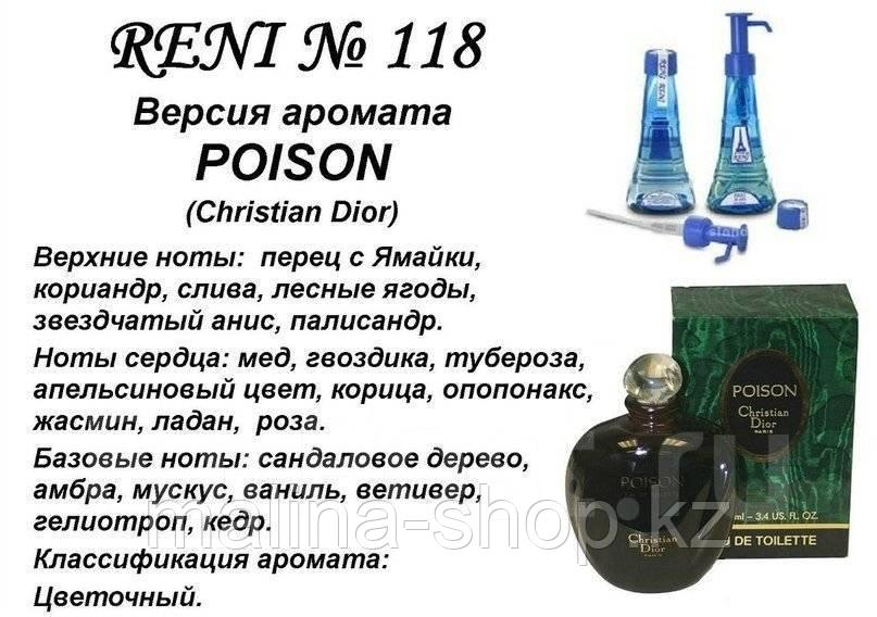 Духи на розлив Poison (Christian Dior) 100 мл женские