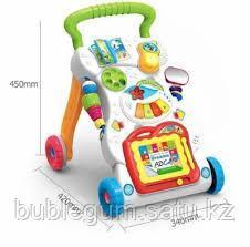 Ходунки ПЕРВЫЕ ШАГИ, со светом, звуком, съемные игрушки