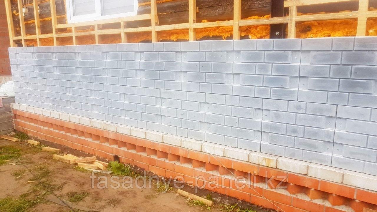 Фасадные панели для коттеджей с утеплителем 30-50 мм - фото 1