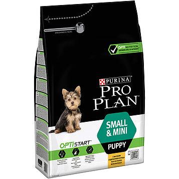 Сухой корм ПроПлан для щенков мелких и карликовых пород