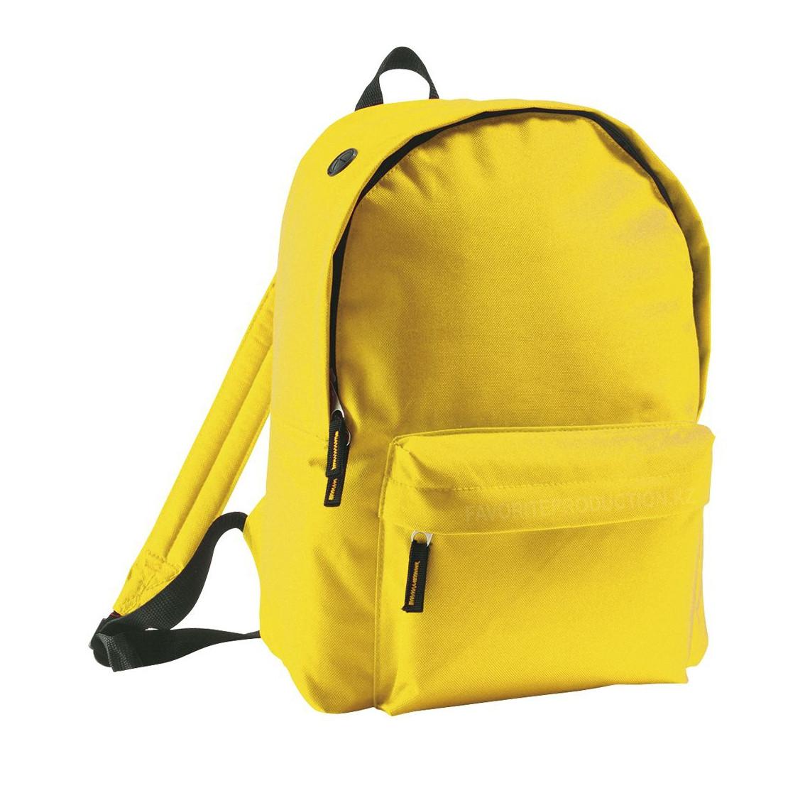 Рюкзак RIDER | 600D | Желтый