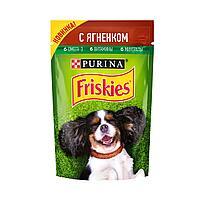 Фрискис Влажный корм для собак с ягненком в подливе