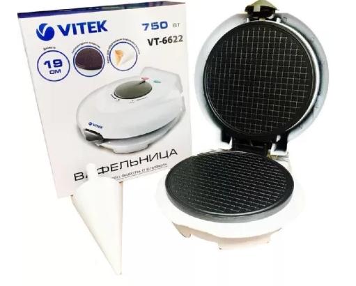 Вафельница с антипригарным покрытием Vitek, фото 2