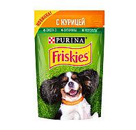 Фрискис Влажный корм для собак с курицей в подливе