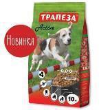 Трапеза Active 10кг Сухой корм для собак средних пород с повышенной физической активностью, фото 1