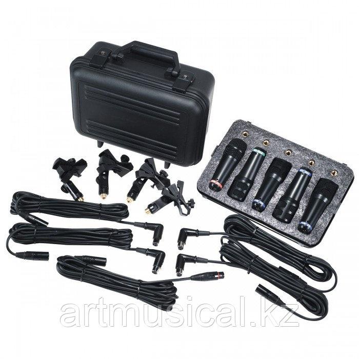Набор микрофонов для барабанной установки Peavey PVM DMS-5
