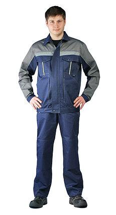 """Костюм """"Оптимальный"""" рабочий летний мужской с брюками, фото 2"""