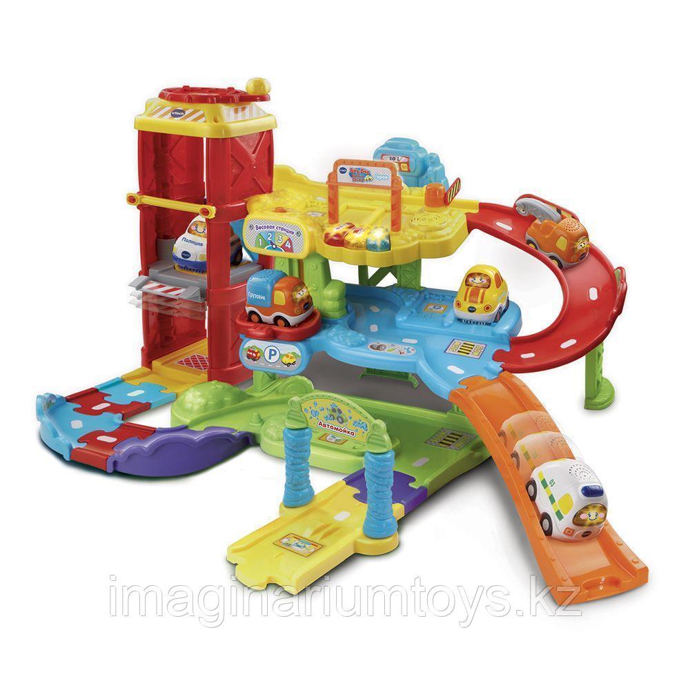 Развивающая интерактивная игрушка VTech «Гараж»