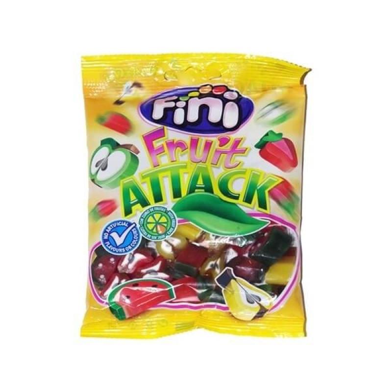 """Жевательный мармелад """"Fruit Attack - Фруктовая атака"""" FINI Испания 100гр"""