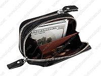 Кожаный кошелек  для защиты кредитных карт, фото 1