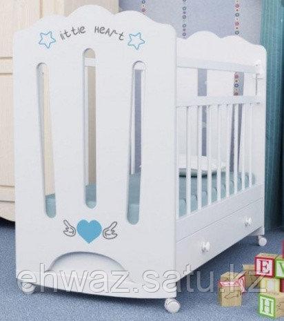 Детская кроватка ВДК Little Heart маятник