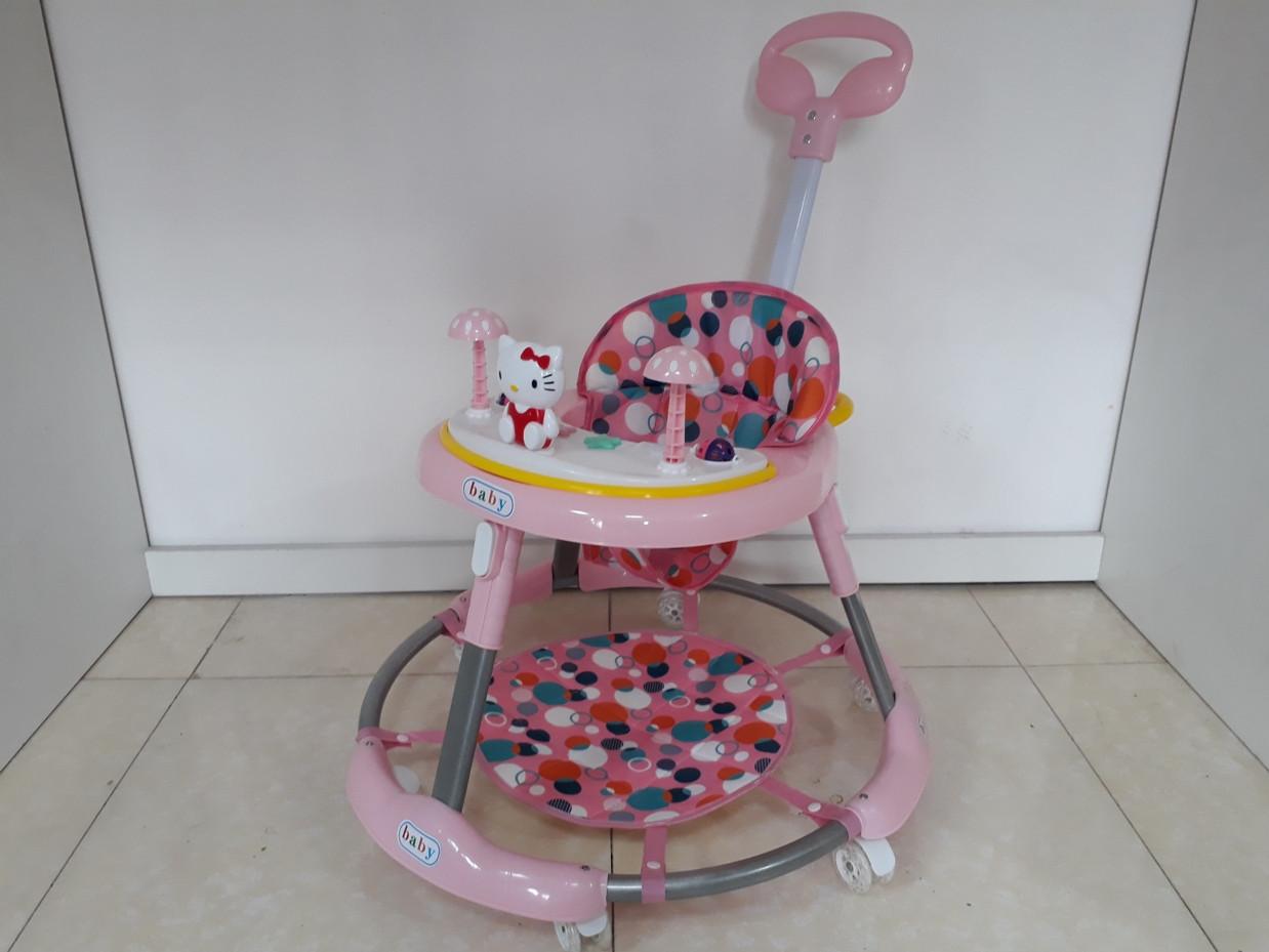"""Классные ходунки """"Комфорт Baby"""" на гелевых колесах и с родительским контролем"""