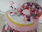 """Классные ходунки """"Комфорт Baby"""" на гелевых колесах и с родительским контролем, фото 6"""