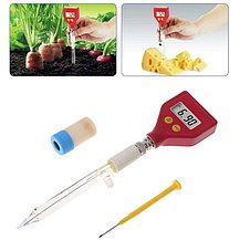 Стеклянный pH метр - измерение уровня PH для почвы, косметики, кремов, молока, сыров, фото 2