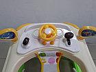 Практичные ходунки Машинка на гелевых колесах и задним толкателем, фото 4