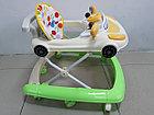 Практичные ходунки Машинка на гелевых колесах и задним толкателем, фото 9