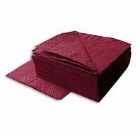 Салфетки бумажные 2х слойные, размер 33х33 см