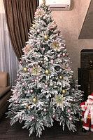 """Искусственная новогодняя елка со снегом """"Siberia Gold"""" - 240 см"""