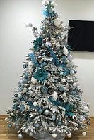 """Новогодняя искусственная елка в снегу """"Siberia Gold"""" - 210 см"""