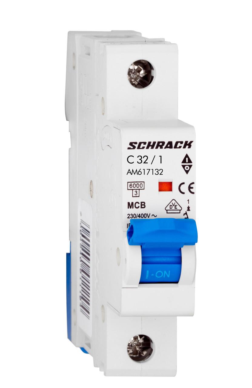 Автоматический выключатель C32А/1, 6кА