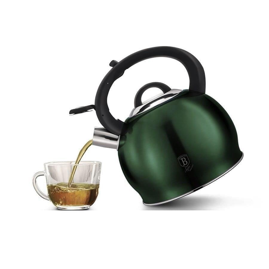 Чайник со свистком Berlinger Haus Emerald Collection - 3л