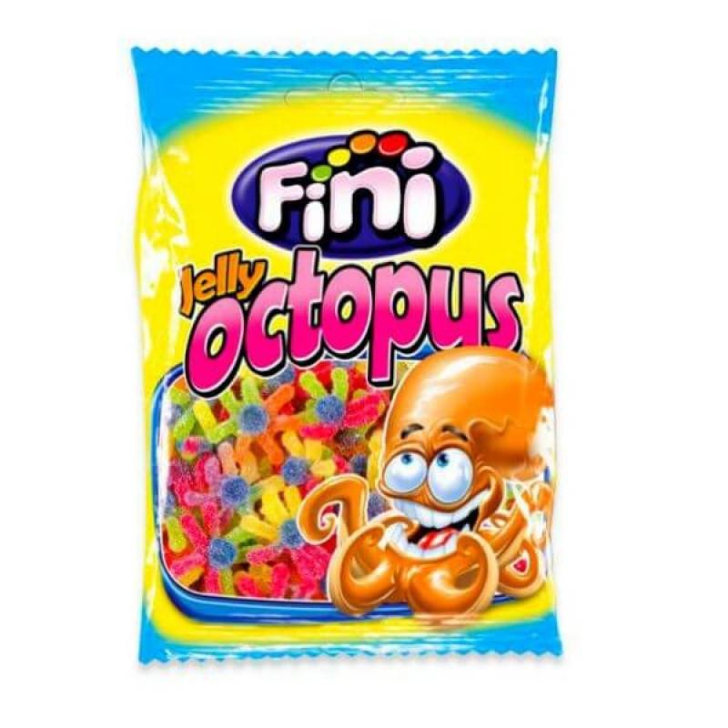 "Жевательный мармелад ""Jelly Octopus - Осменожек"" FINI Испания 100гр"