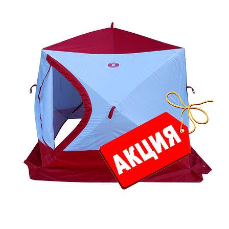 Зимняя палатка КУБ-Медведь- 4 трехслойная, фото 2