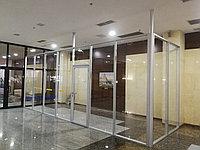 Офисные перегородки / алюминиевые и стеклянные