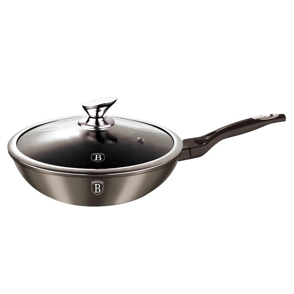 Сковородка-сотейник Berlinger Haus Carbon Metallic 28 см