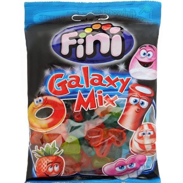 """Жевательный мармелад """"Galaxy mix - Галактический микс"""" FINI Испания 100гр"""