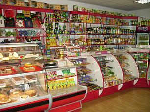 Витрины для продуктовых магазин