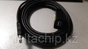 USB 2.0 УДЛИНИТЕЛЬ 10 МЕТРОВ С БУСТЕРОМ 5В