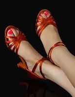 Туфли для бальных танцев (взрослые). Цвет: Бронза. Размеры: 35-41 37